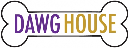 Image of logo, a bone with the words Dawg House inside.