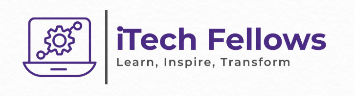 logo picture that says iTech Fellows