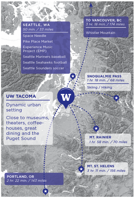 Heart of Puget Sound Map