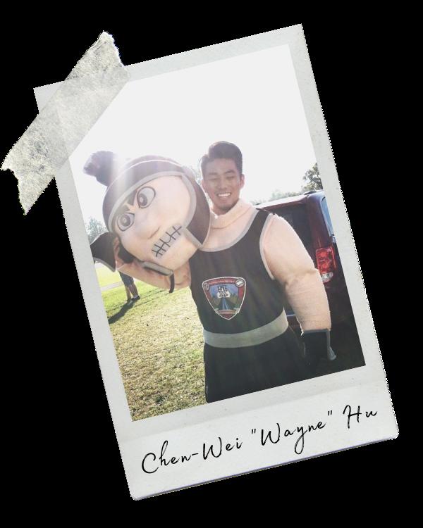 """Chen-Wei """"Wayne"""" Hu"""