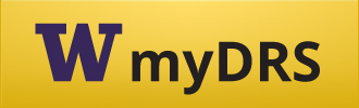 "Button with yellow background that says ""myDRS"""