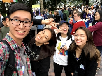 UWT international students