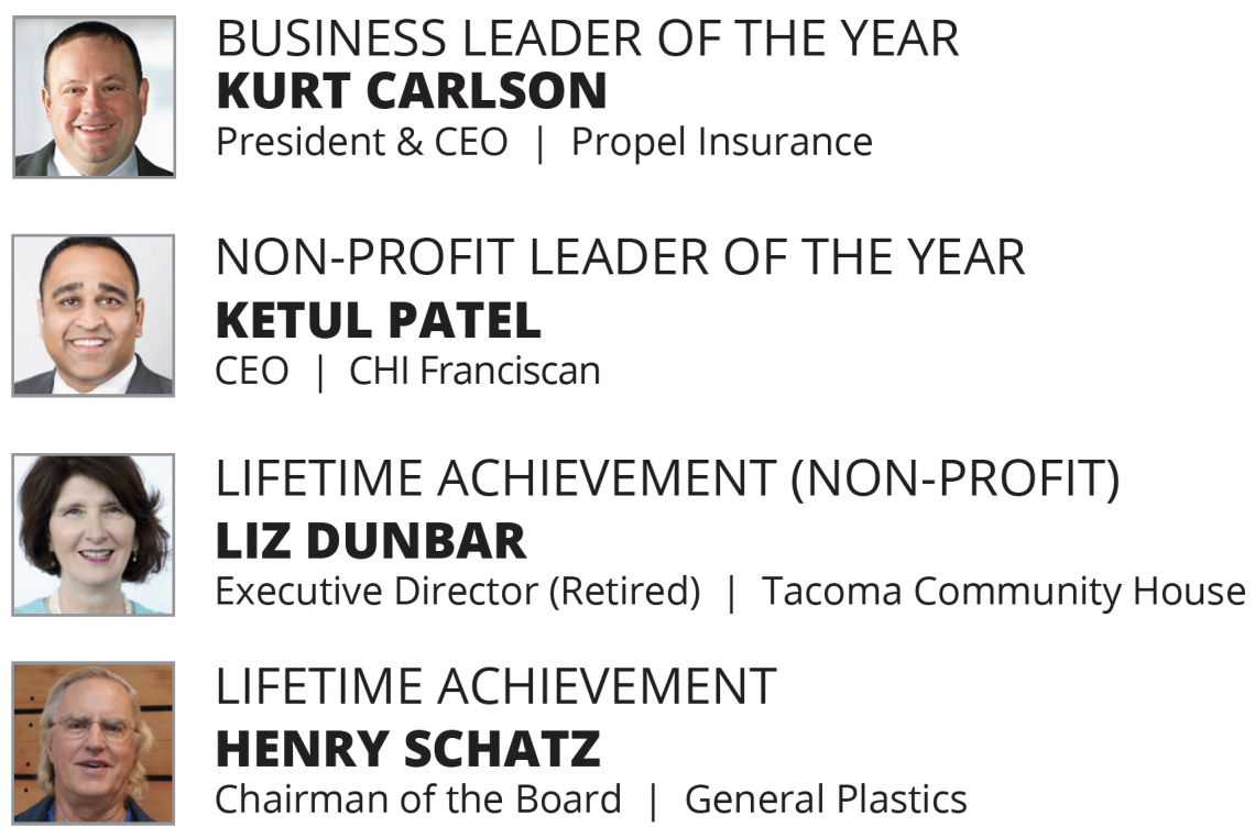 2019 Business Leader Winners