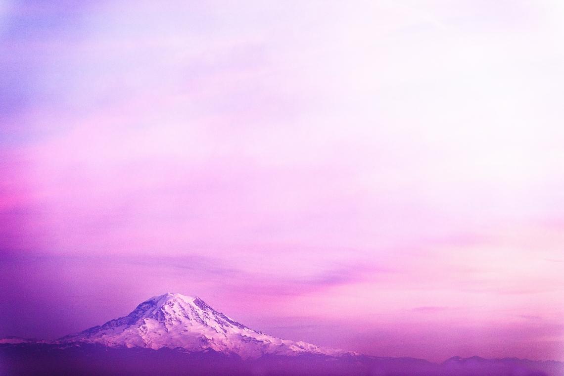 Mt Rainier from UW Tacoma