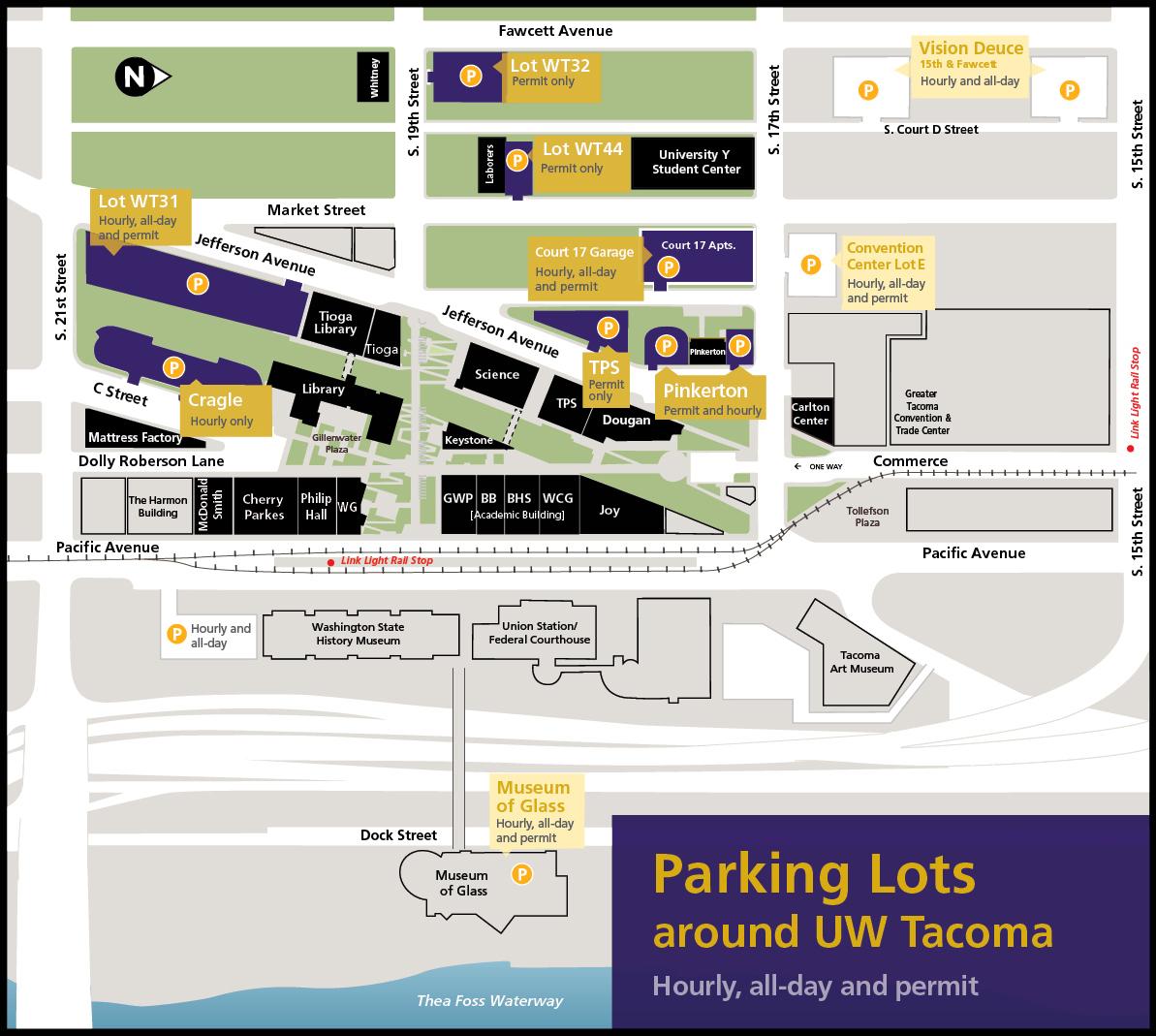 UWT Parking