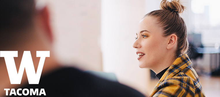 Woman in meeting with Human Resources Manager