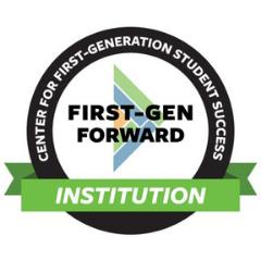 logo for First-Gen Forward Institution cohort