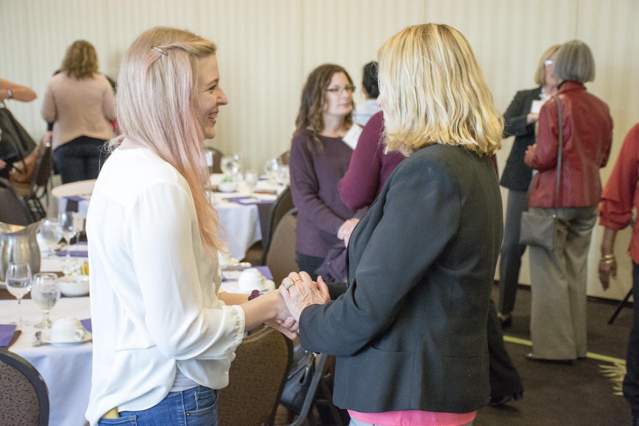 Mentor and Mentee Conversation