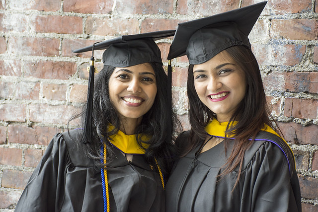 MSBA Students at 2019 hooding