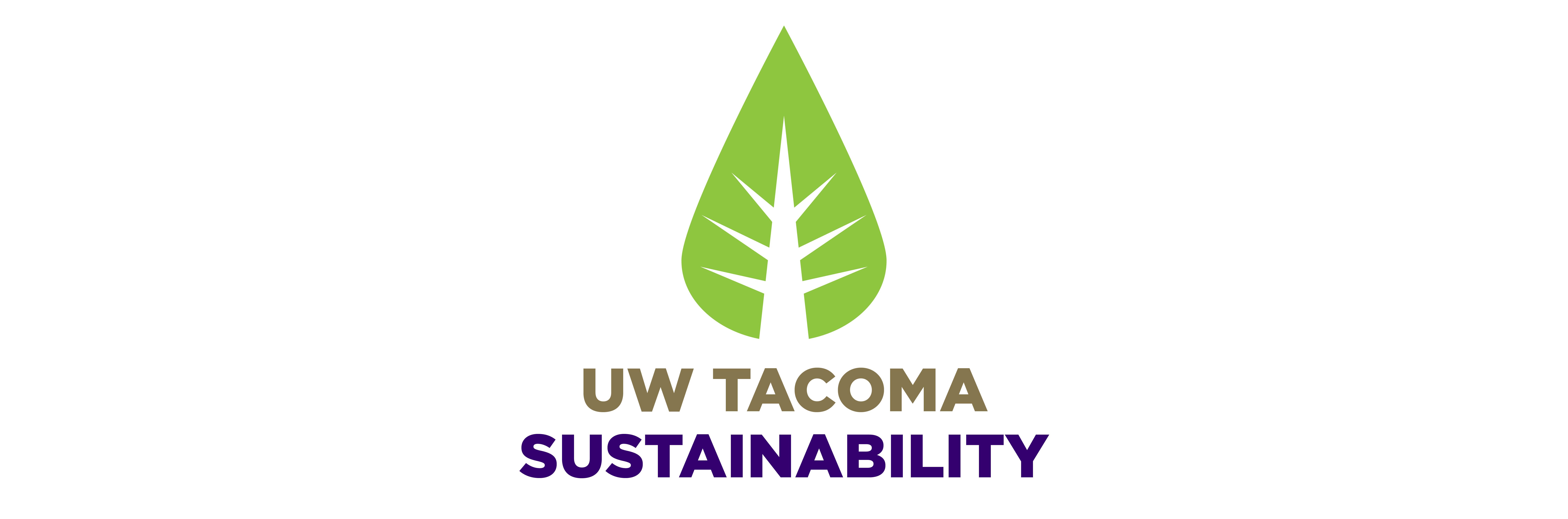UW Tacoma Sustainability Logo