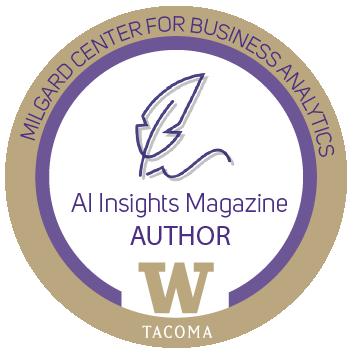 AI Insights magazine author bagde