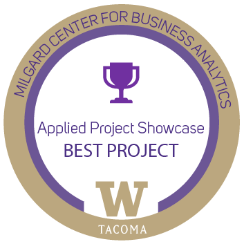 Applied project showcase bagde