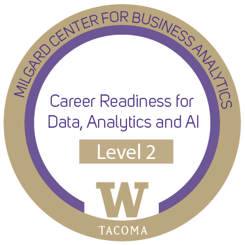 career readiness level 2 badge