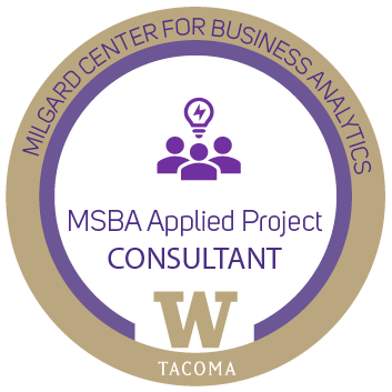 MSBA Applied project consultant
