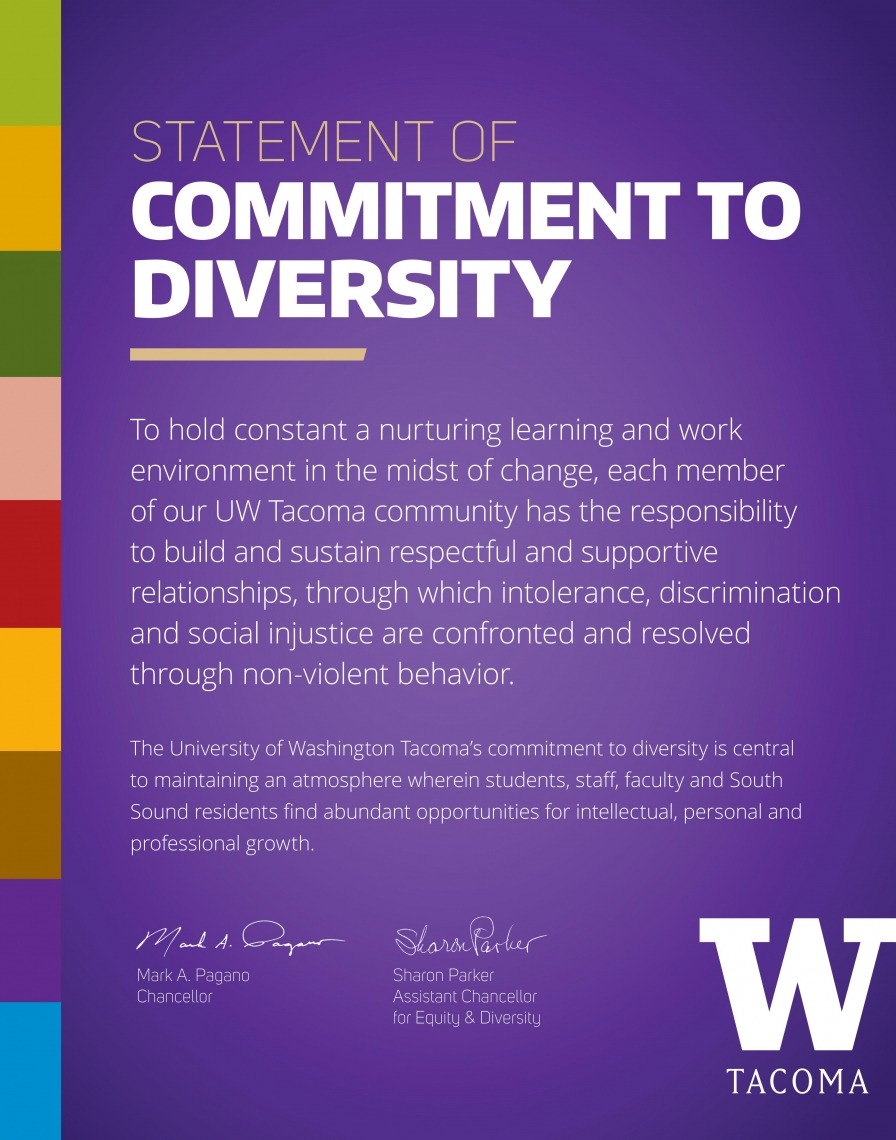 Statement of commitment to diversity