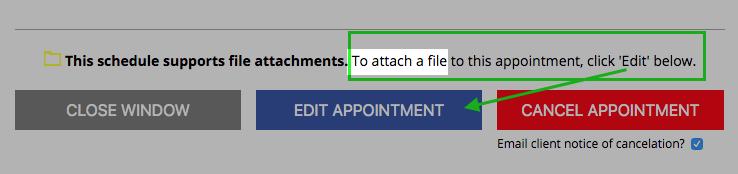 new file attachment