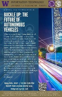 Buckle up: The future of autonomous vehicles flyer