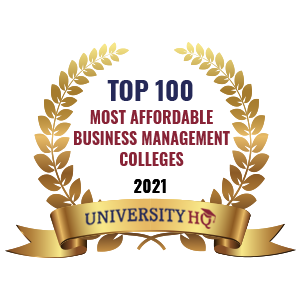 Milgard MBA is ranked in the top 100 most affordable business management colleges
