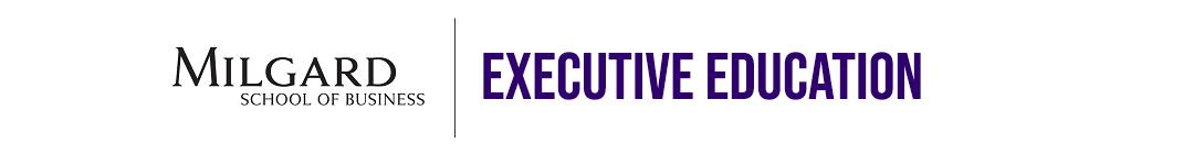 Milgard School of Business - Executive Education