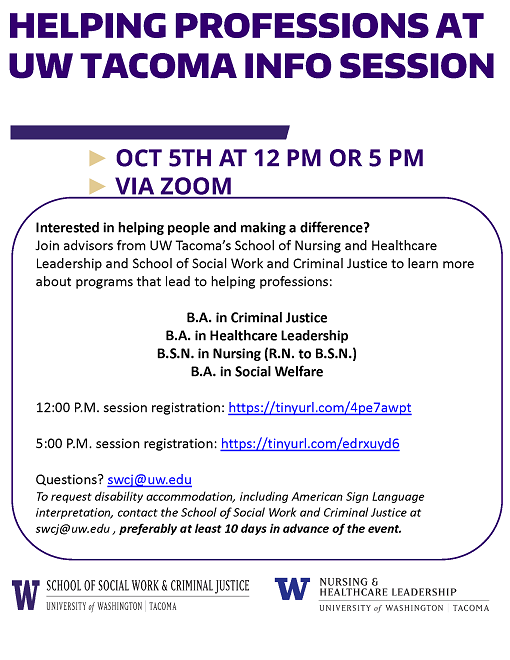 Info Session October 5