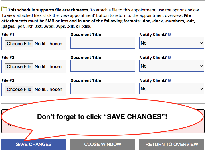 """picture showing a """"save changes"""" button"""