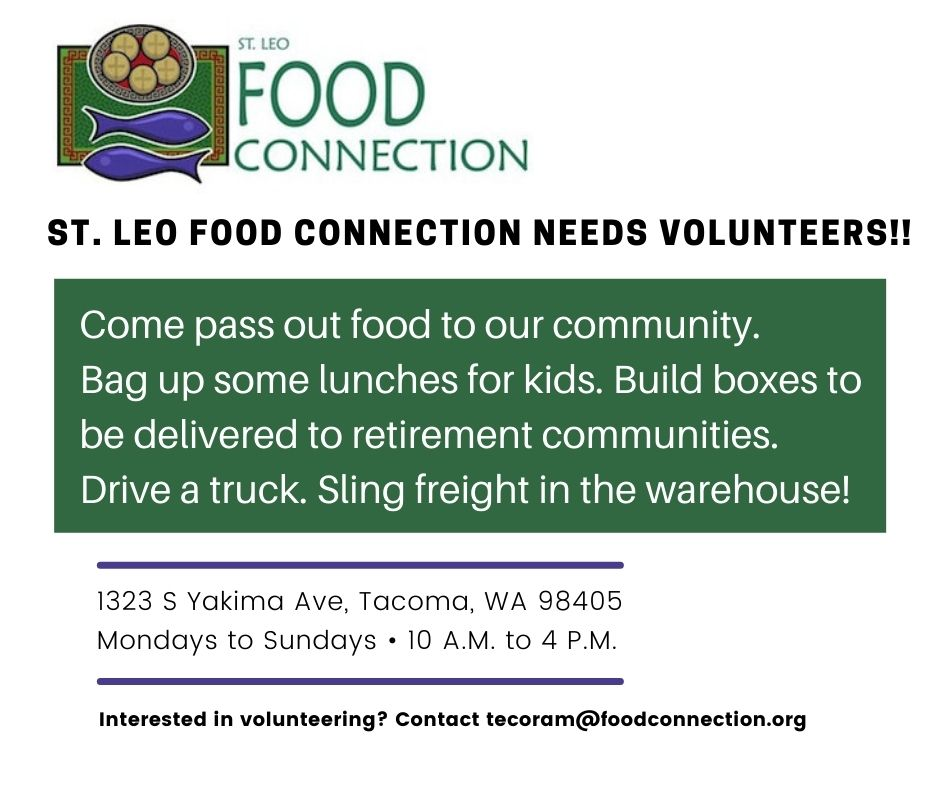Come pass out food to our community. Bag up some lunches for kids. Build boxes to be delivered to retirement communities. Drive a truck. Sling freight in the warehouse!