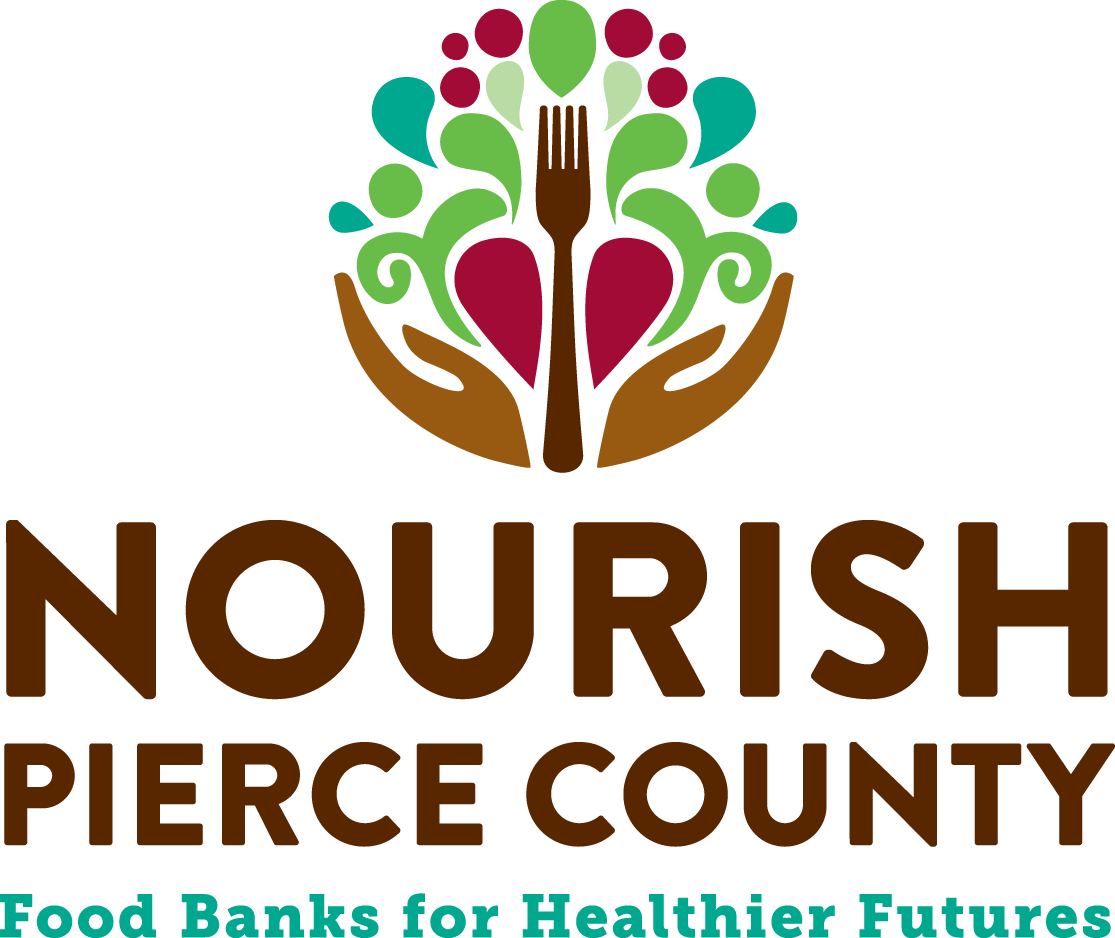 Logo for Nourish Pierce County - Food Banks for Healthier Futures