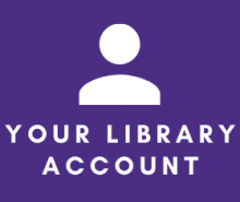 Link: Your library account portal for checking due dates, fines, and overall account statuses