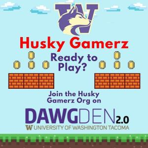 Photo of husky gamerz flyer