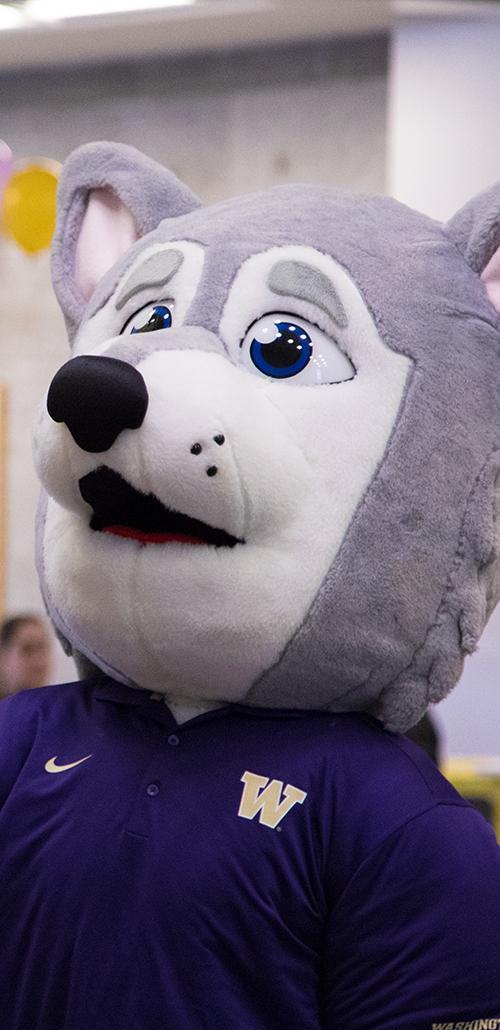 Photo of Hendrix mascot
