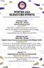 Winter 2021 Signature Events