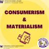 consumerism & materialism flyer
