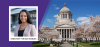 Senator T'wina Nobles banner for the Milgard School of Business event on May 13, 2021