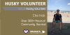 gold husky volunteer